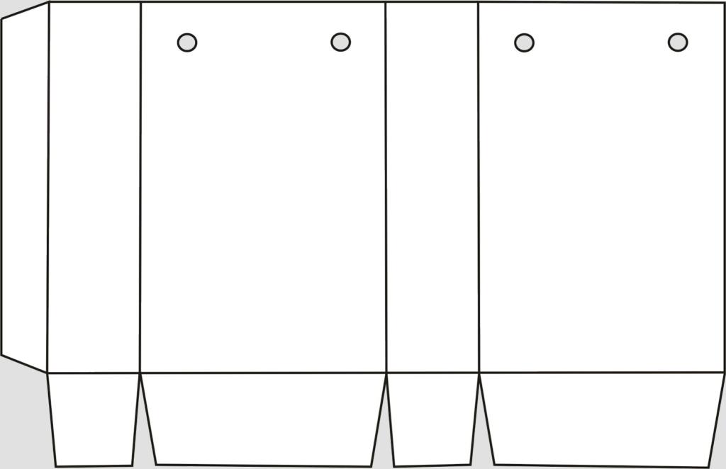 Макет параллелепипеда 1