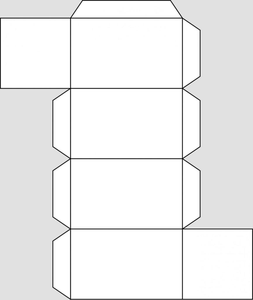 Макет параллелепипеда 4