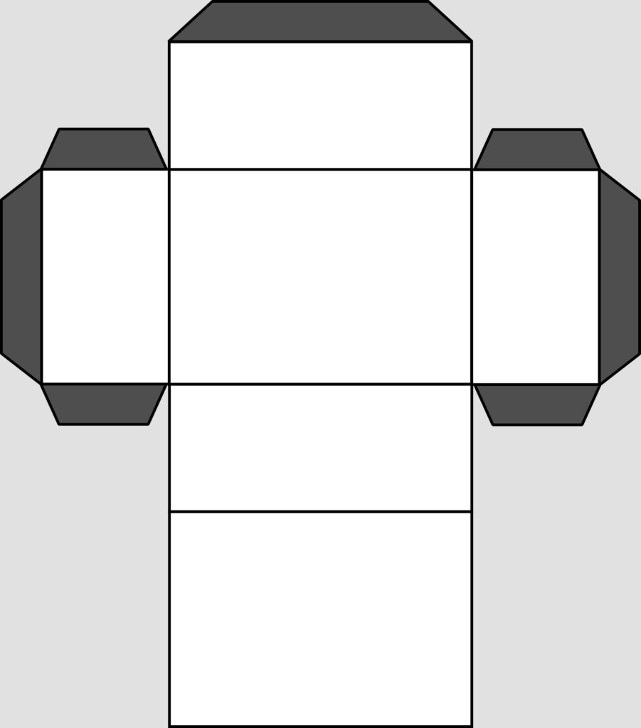 Макет параллелепипеда 5