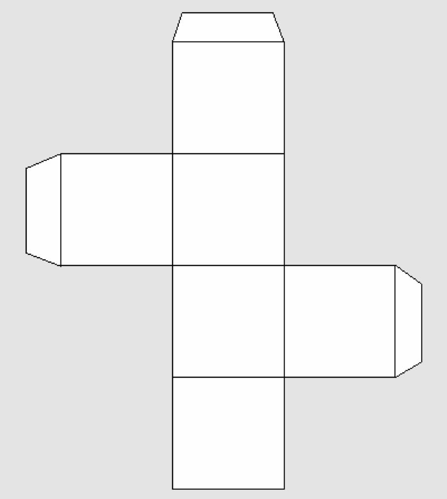 Макет куба 1