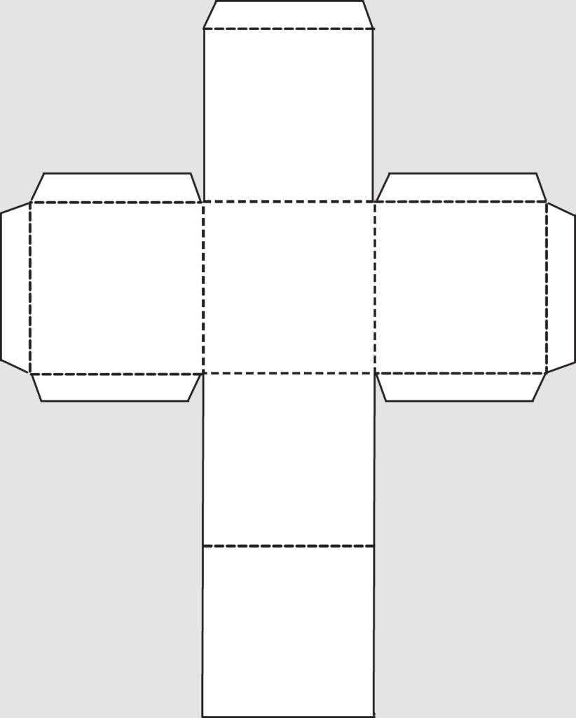 Макет куба 3