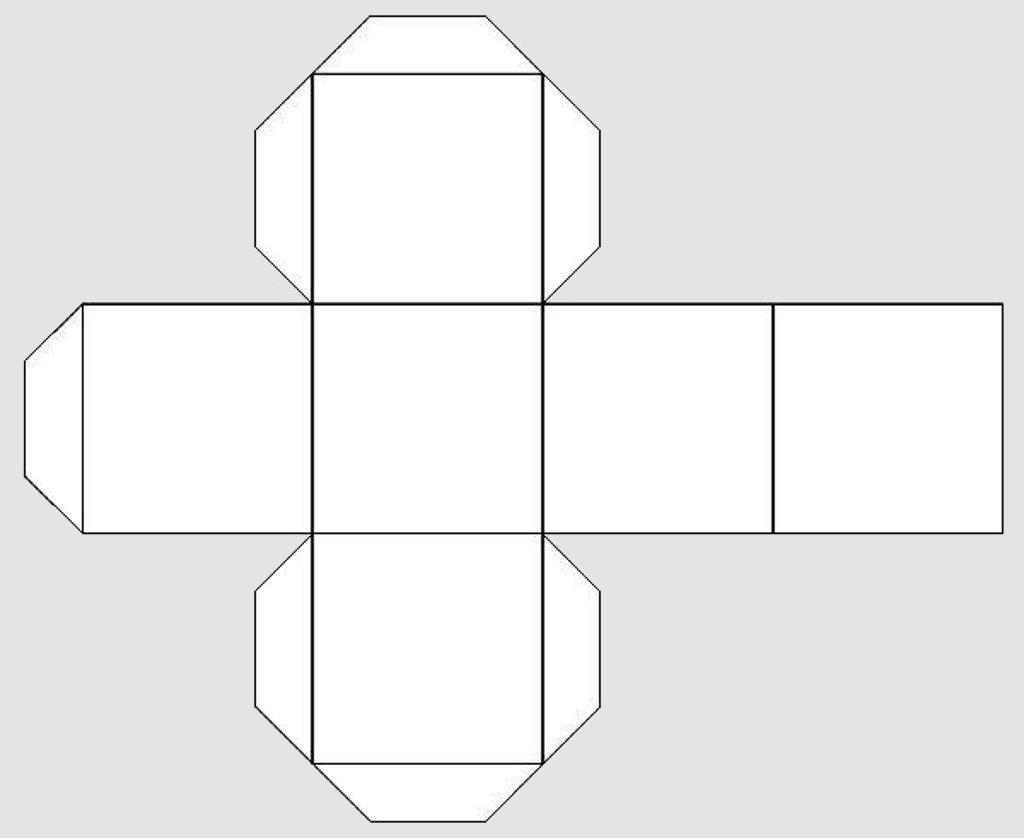 Макет куба 5