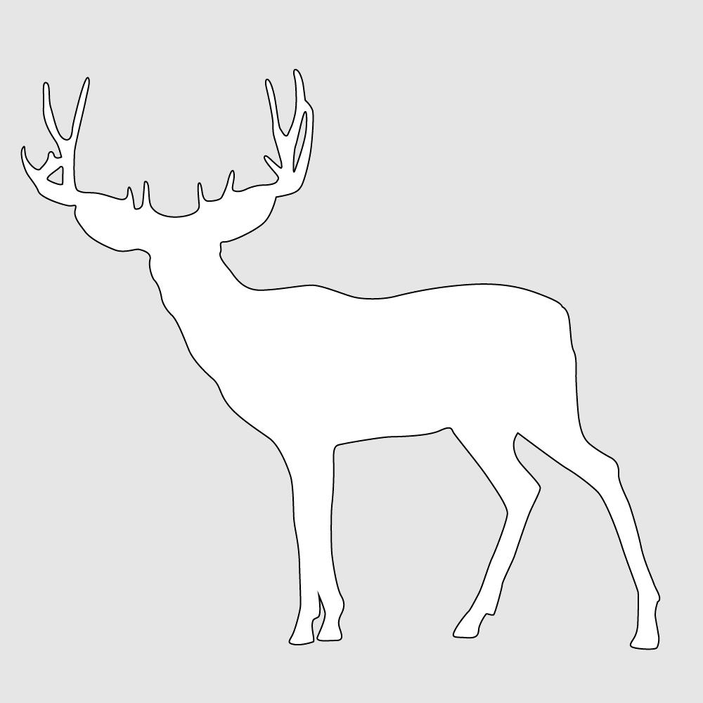 Макет оленя 3