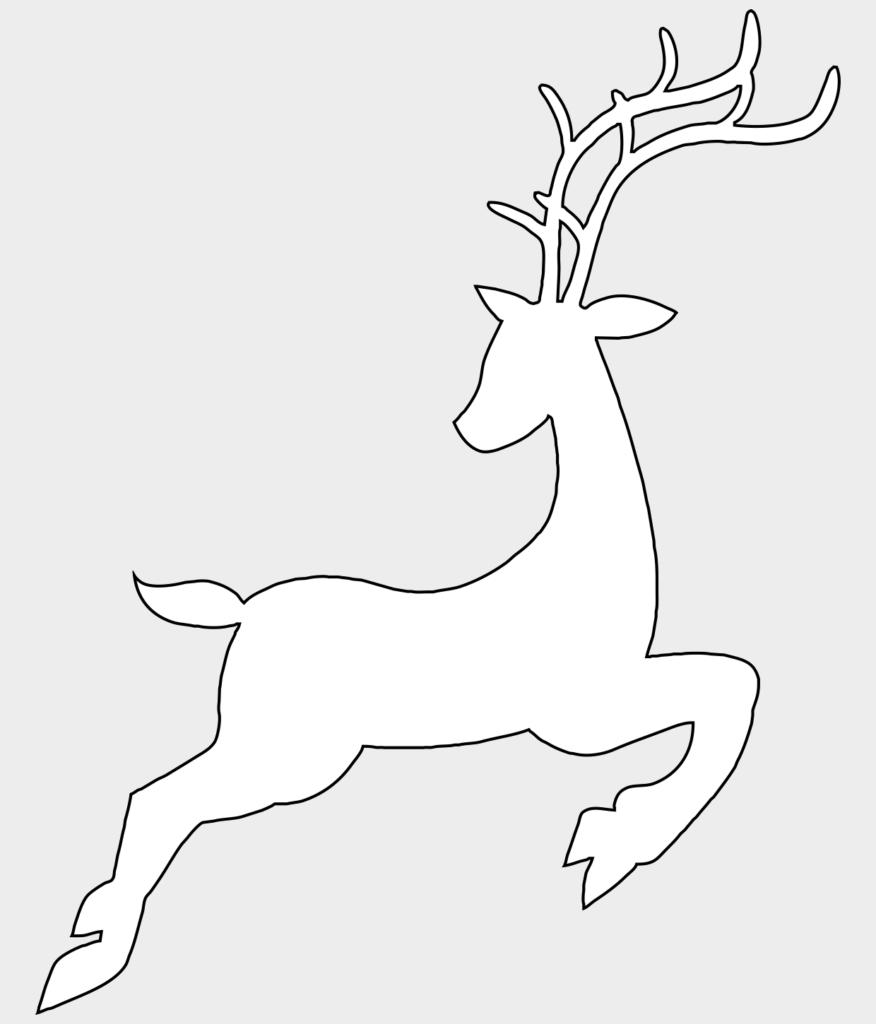 Макет оленя 4