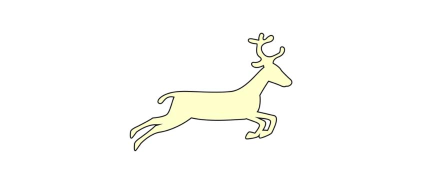 Макеты оленя