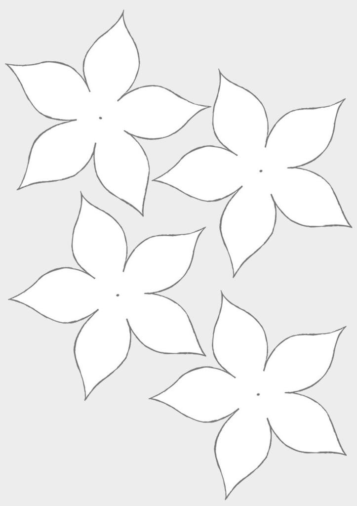 Макет цветов 2