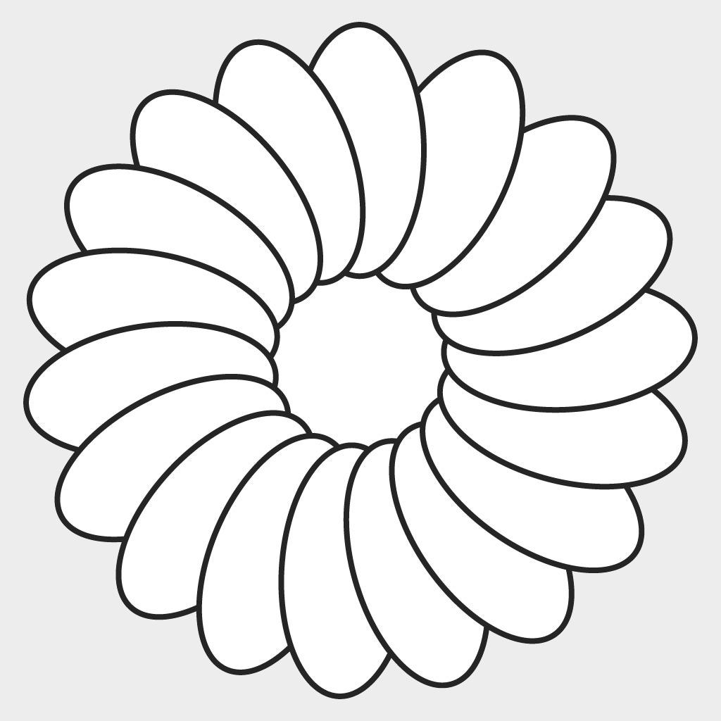 Макет цветов 4