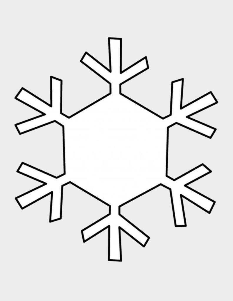 Макет снежинки 2
