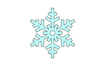 Макеты снежинок