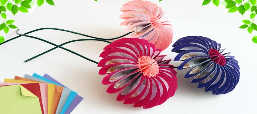 Как сделать макет цветка своими руками