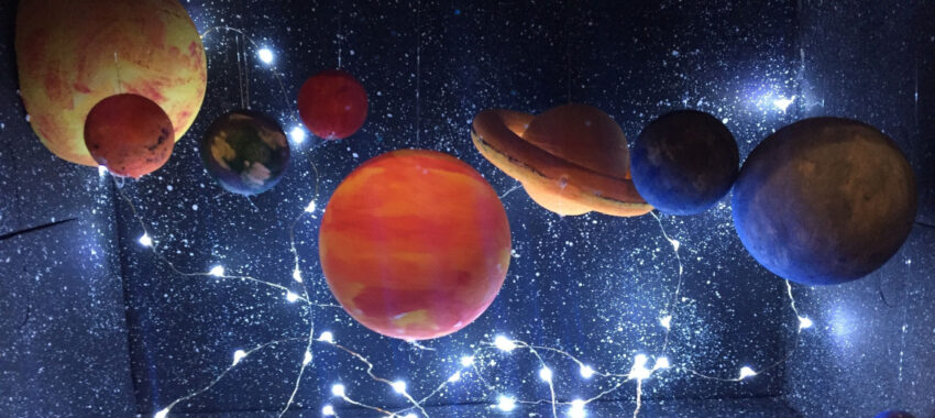Как сделать макет космос для детского сада своими руками?