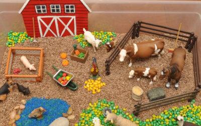 Как сделать макет фермы для детского сада своими руками?