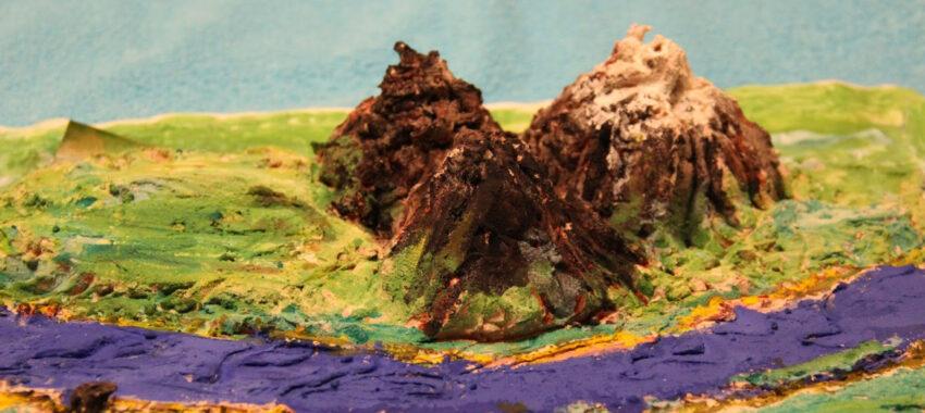 Как сделать макет горы своими руками?