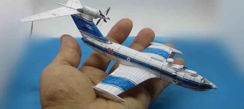 Как сделать макет самолета из бумаги?