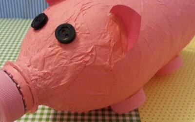 Как изготовить макет свиньи из бумаги?