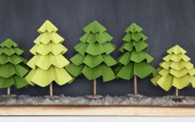 Как изготовить макет деревьев?