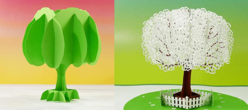 Как делать деревья из бумаги для макета?
