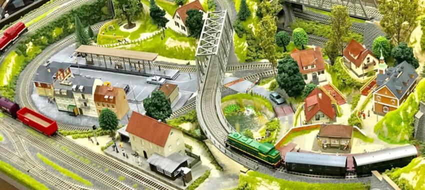 Как делать макеты железной дороги своими руками?