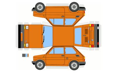 Как делать макеты машин из бумаги?